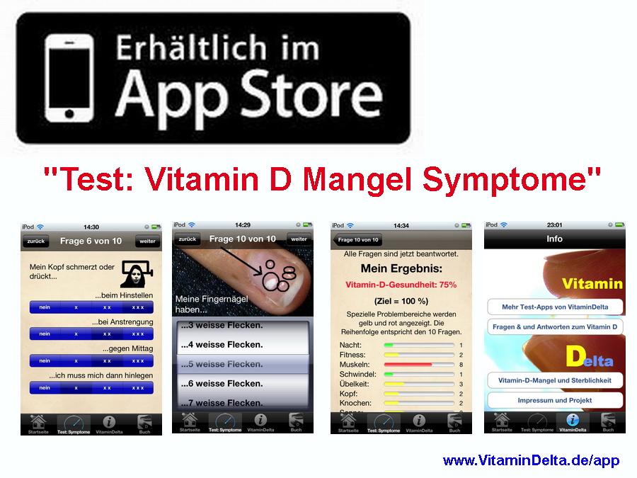 extremer vitamin d mangel folgen