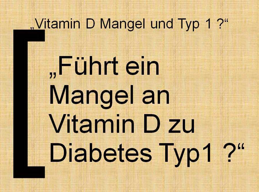 Die ursachen von diabetes