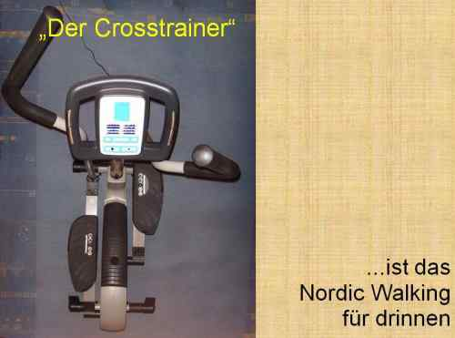 Folie195 Vitamin D Nordic-Walking Crosstrainer